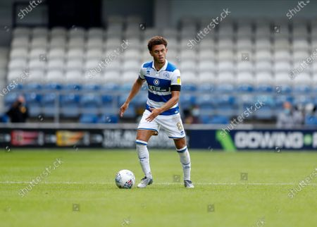 The Kiyan Prince Foundation Stadium, London, England; Luke Amos of Queens Park Rangers; English Championship Football, Queen Park Rangers versus Sheffield Wednesday.