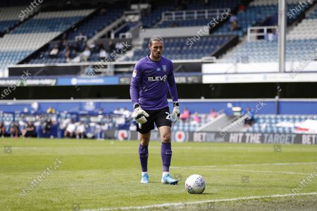 The Kiyan Prince Foundation Stadium, London, England; Goalkeeper Alessio da Cruz of Sheffield Wednesday; English Championship Football, Queen Park Rangers versus Sheffield Wednesday.