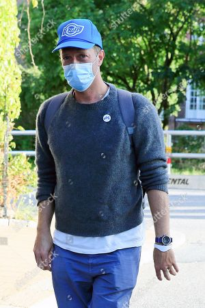 Exclusive - Chris Martin out and about, Stockholm