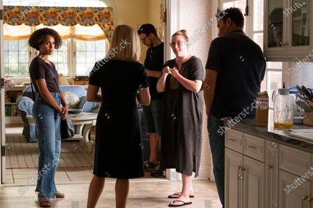 Kerry Washington as Mia Warren, Reese Witherspoon as Elena Richardson and Liz Tigelaar Writer