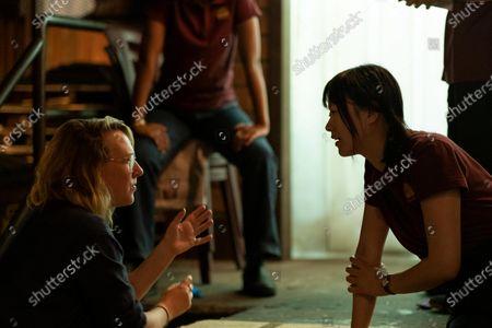 Liz Tigelaar Writer and Lu Huang as Bebe Chow