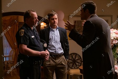 Colby French as Lou, Joshua Jackson as Bill Richardson and Geoffrey Stults as Mark McCullough