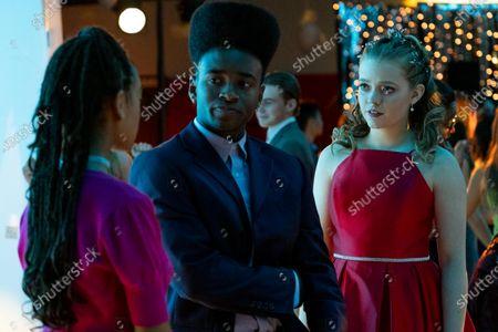 Lexi Underwood as Pearl Warren, Stevonte Hart as Brian Harlins and Jade Pettyjohn as Lexie Richardson