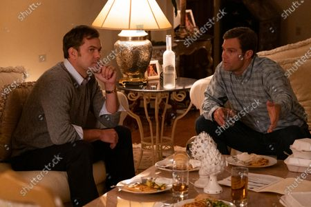 Stock Image of Joshua Jackson as Bill Richardson and Geoffrey Stults as Mark McCullough