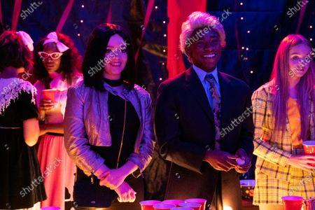 Jade Pettyjohn as Lexie Richardson and Stevonte Hart as Brian Harlins