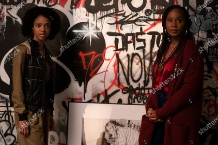 Stock Photo of Tiffany Boone as Young Mia and Anika Noni Rose as Pauline Hawthorne