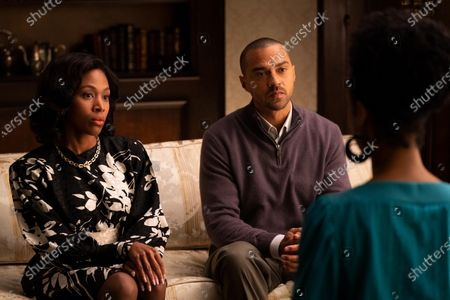 Nicole Beharie as Madeline Ryan and Jesse Williams as Joe Ryan