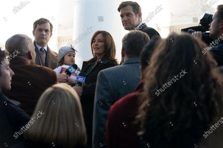 Joshua Jackson as Bill Richardson, Rosemarie DeWitt as Linda McCullough and Geoffrey Stults as Mark McCullough