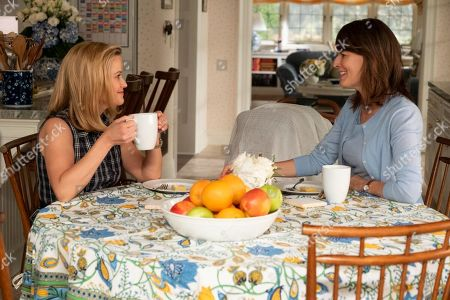 Reese Witherspoon as Elena Richardson and Rosemarie DeWitt as Linda McCullough