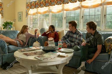 Jade Pettyjohn as Lexie Richardson, Lexi Underwood as Pearl Warren, Jordan Elsass as Trip Richardson and Gavin Lewis as Moody Richardson