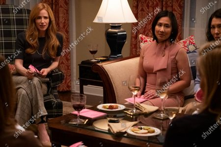Jaime Ray Newman as Elizabeth Manwill and Celeste Ng Writer