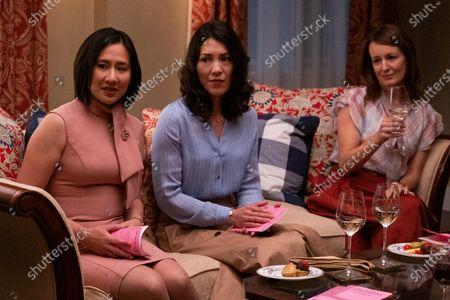 Celeste Ng Writer, Carie Kawa as Angela Wong and Rosemarie DeWitt as Linda McCullough