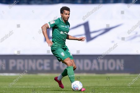 Jacob Murphy of Sheffield Wednesday in action during Sky Bet League Championship match between Queens Park Rangers and Sheffield Wednesday at The Kiyan Prince Foundation Stadium in London, UK - 11th July 2020