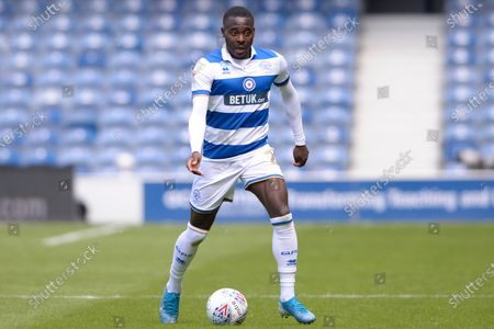 Bright Osayi-Samuel of Queens Park Rangers in action during Sky Bet League Championship match between Queens Park Rangers and Sheffield Wednesday at The Kiyan Prince Foundation Stadium in London, UK - 11th July 2020