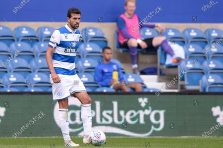 Yoann Barbet of Queens Park Rangers in action during Sky Bet League Championship match between Queens Park Rangers and Sheffield Wednesday at The Kiyan Prince Foundation Stadium in London, UK - 11th July 2020
