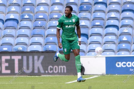 Dominic Iorfa and of Sheffield Wednesday celebrates scoring the opening goalduring Sky Bet League Championship match between Queens Park Rangers and Sheffield Wednesday at The Kiyan Prince Foundation Stadium in London, UK - 11th July 2020