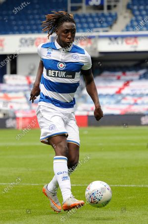 Osman Kakay of Queens Park Rangers in action during Sky Bet League Championship match between Queens Park Rangers and Sheffield Wednesday at The Kiyan Prince Foundation Stadium in London, UK - 11th July 2020