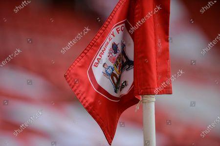 Barnsley FC corner flag