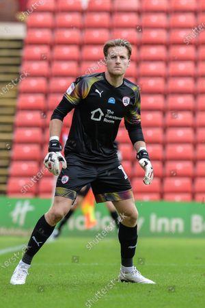Goalkeeper  Jack Walton (13) of Barnsley FC