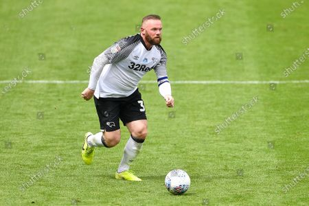 Wayne Rooney (32) of Derby County