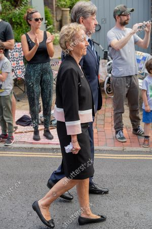 Funeral of Dame Vera Lynn, Ditchling