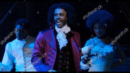Daveed Diggs as Marquis de Lafayette/Thomas Jefferson
