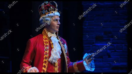Stock Photo of Jonathan Groff as King George