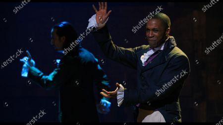 Leslie Odom Jr as Aaron Burr