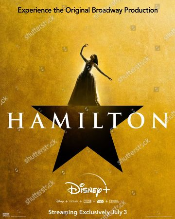 Hamilton (2020) Poster Art. Renee Elise Goldsberry as Angelica Schuyler