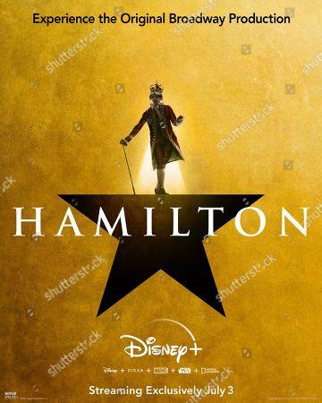 KingGeorg Hamilton (2020) Poster Art. Jonathan Groff as King George
