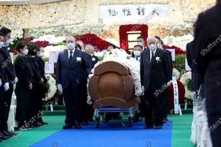 Funeral of casino magnate Stanley  Ho, Hong Kong
