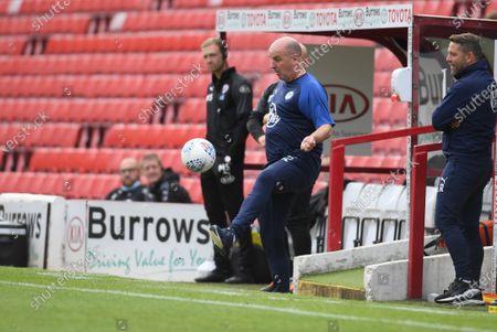 Wigan boss Paul Cook.