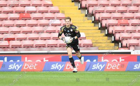 Barnsley keeper Jack walton.