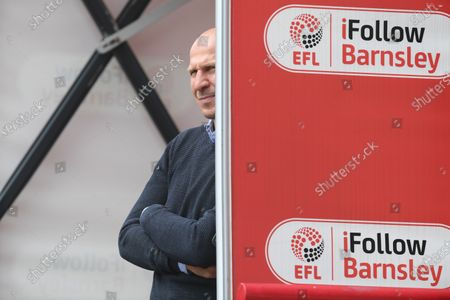 Barnsley boss Gerhard Struber.