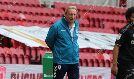 Image éditoriale de Middlesbrough v Bristol City, Sky Bet Championship, Football, Riverside Stadium, Middlesbrough, UK - 11 Jul 2020