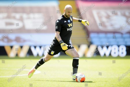 Goal keeper Pepe Reina of Aston Villa.