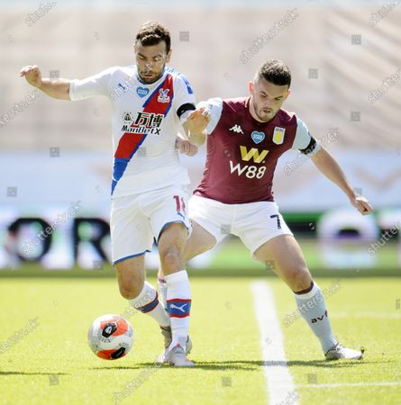 James McArthur of Crystal Palace and John McGinn of Aston Villa.