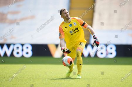 Goal keeper Vicente Guaita of Crystal Palace.
