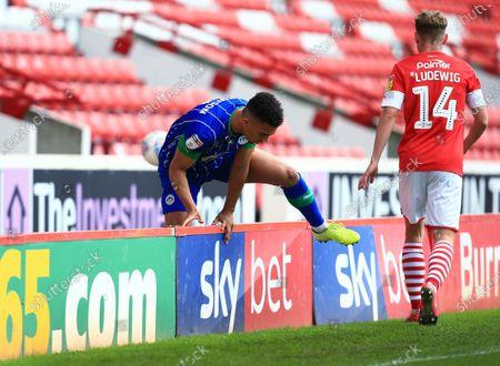 Antonee Robinson of Wigan Athletic