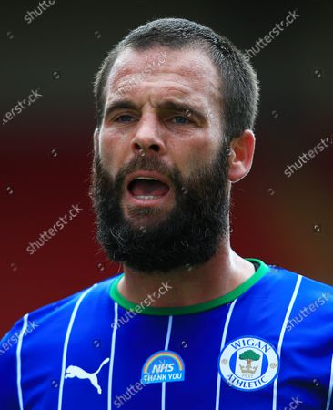 Stock Picture of Danny Fox of Wigan Athletic