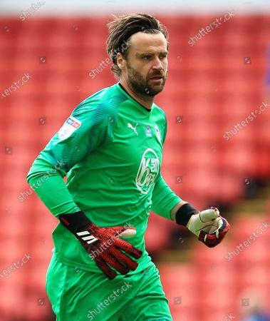 Wigan Athletic goalkeeper David Marshall