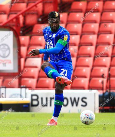 Cedric Kipre of Wigan Athletic