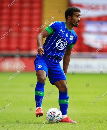 Photo libre de droits de Nathan Byrne of Wigan Athletic