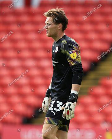 Barnsley goalkeeper Jack Walton