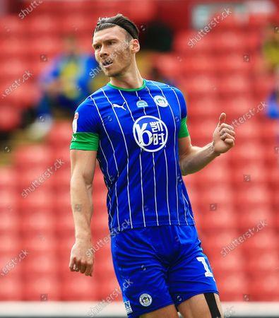 Kieffer Moore of Wigan Athletic
