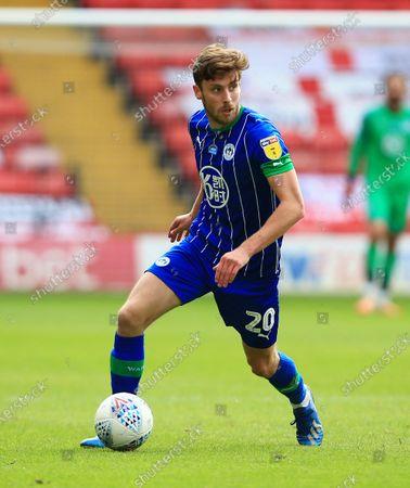 Joe Williams of Wigan Athletic