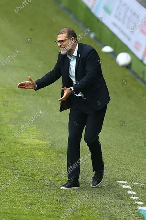 West Brom's manager, Slaven Bilic