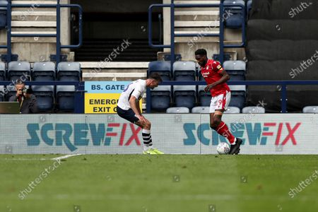 Match action in front of Screwfix branding