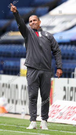 Nottingham Forest manager Sabri Lamouchi