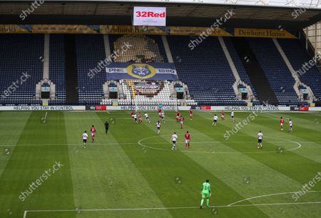 Match action in front of Sky Bet branding